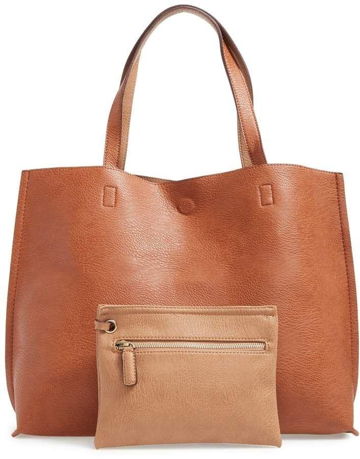 b740e8260 Street Level Reversible Faux Leather Tote & Wristlet #MyShopStyle #ShopStyle  #LooksChallenge #Beauty #Winter#bags#purses#Gucci