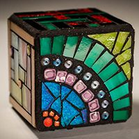 Cherie Bosela - Mosaic Art & Photography- Multiple Personality Cubes