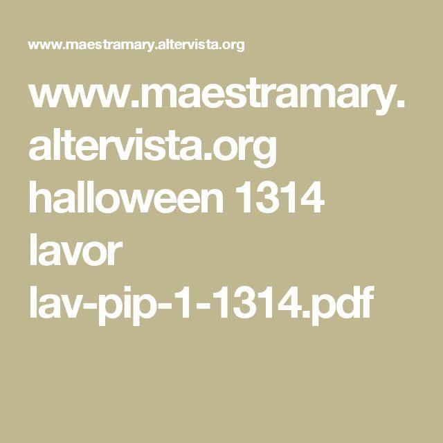 www.maestramary.altervista.org halloween 1314 lavor lav-pip-1-1314.pdf
