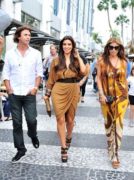 Kim Kardashian & Larsa Pippen
