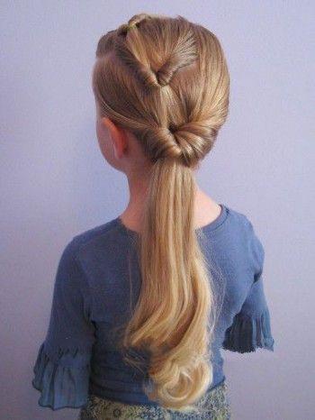 Причёски на длинные волосы на 1 сентября видео