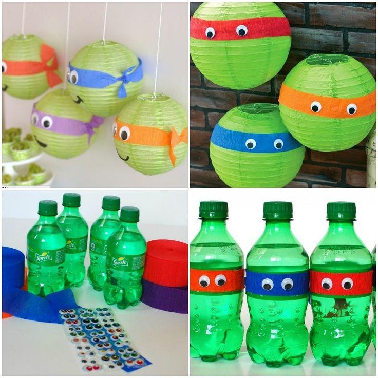 Ms de 25 ideas increbles sobre Fiesta de tortugas ninjas en