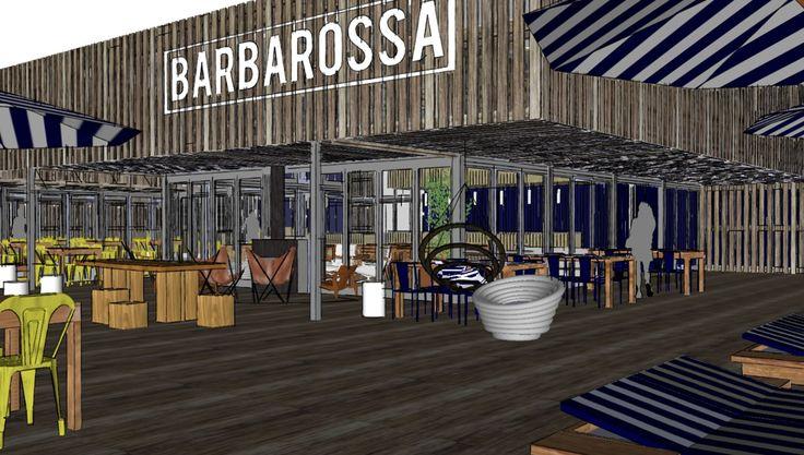 Barbarossa Beachclub Design Bar Restaurant Scheveningen