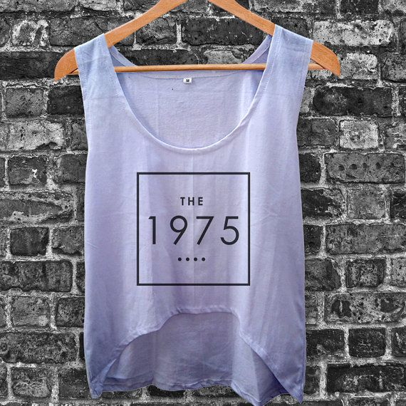 The 1975 Band Women Crop Tank by inoeshop on Etsy