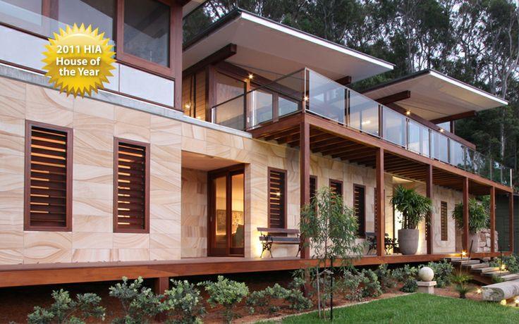 Gosford Quarries, Sandstones, Sandstone Homes, Sandstone Houses, Stone Bricks, Landscaping Ideas, Residential, Sandstone Blocks