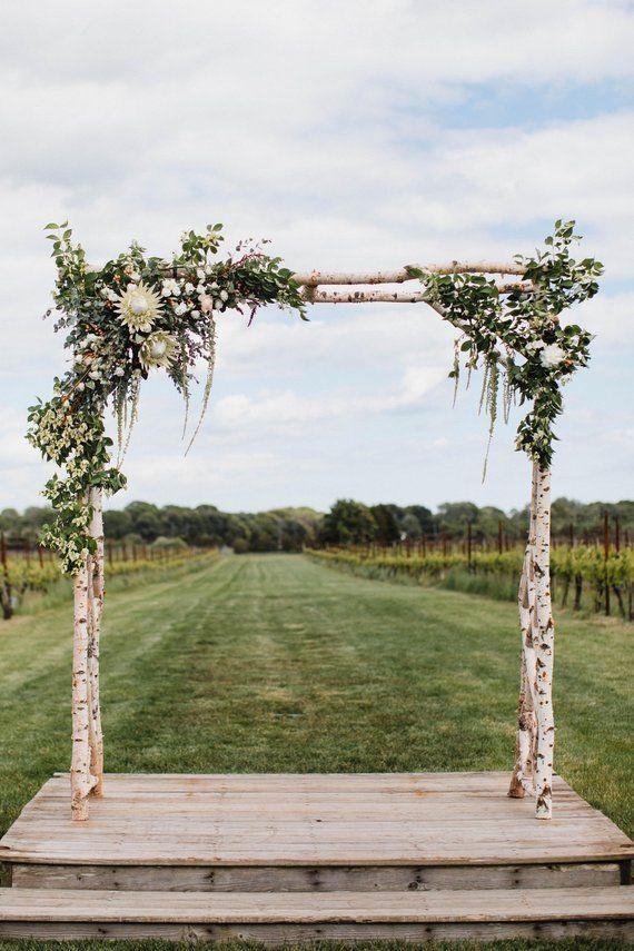 Custom Wedding Arbor Etsy Wedding Arbor Rustic Diy Wedding Arbor Wedding Arch