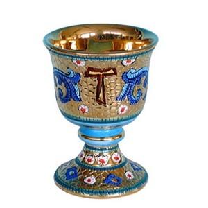 Calice interno oro - Bizantino