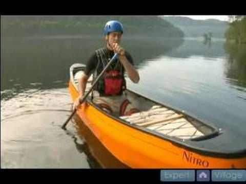 River Reading & River Safety for Whitewater Canoeing : How to Do a Roll in a Solo Whitewater Canoe