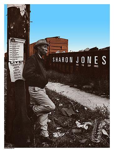 Sharon Jones and the Dap-Kings MARCH 2011 TOUR - by Scott Williams | http://scottwilliamsdesign.com
