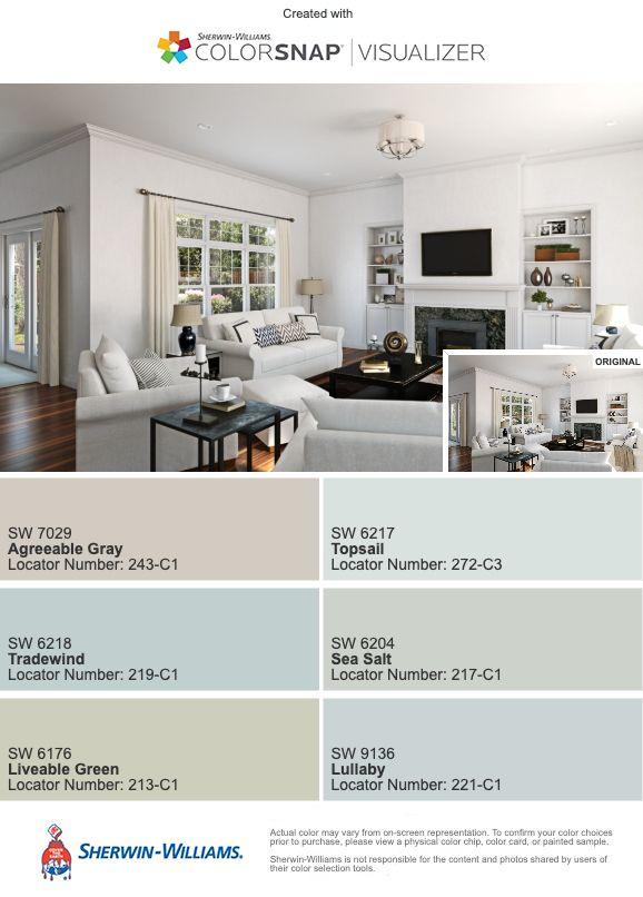1102 Color Palette Paint Colors For Living Room Paint Colors For Home Sherwin Williams Color Schemes