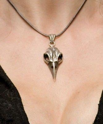 Bellatrix Lestrange's bird skull pendant