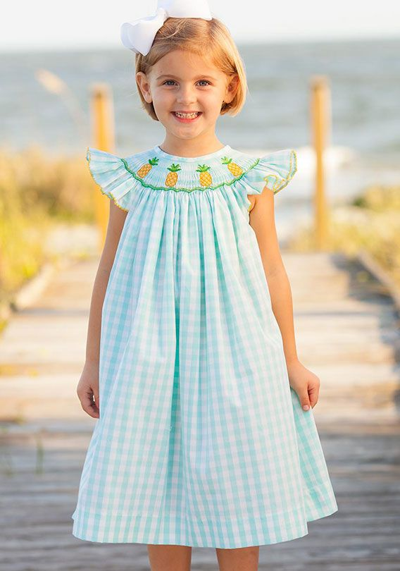 Shrimp and Grits Kids is a line of high quality, hand smocked children's clothing whose products are actually affordable! Our Smocked Bishops, Longall and Shortalls, Bubbles and Sets are traditional staples. Our whimsical Serendipity line is sure to please.
