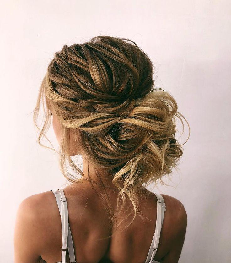 Beautiful Bridal Updos Hairstyle Inspiration - Oksana Sergeeva - #beautiful #bridal #hairstyle #inspiration #oksana