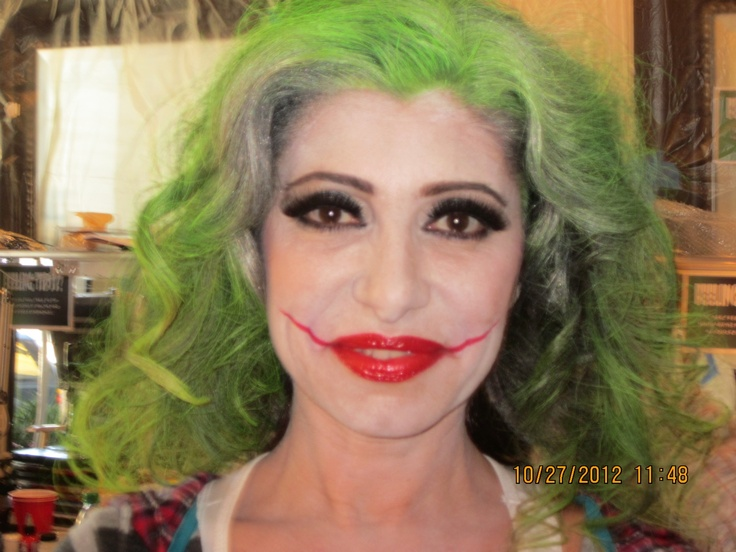 Girl Joker Makeup | Cool | Pinterest