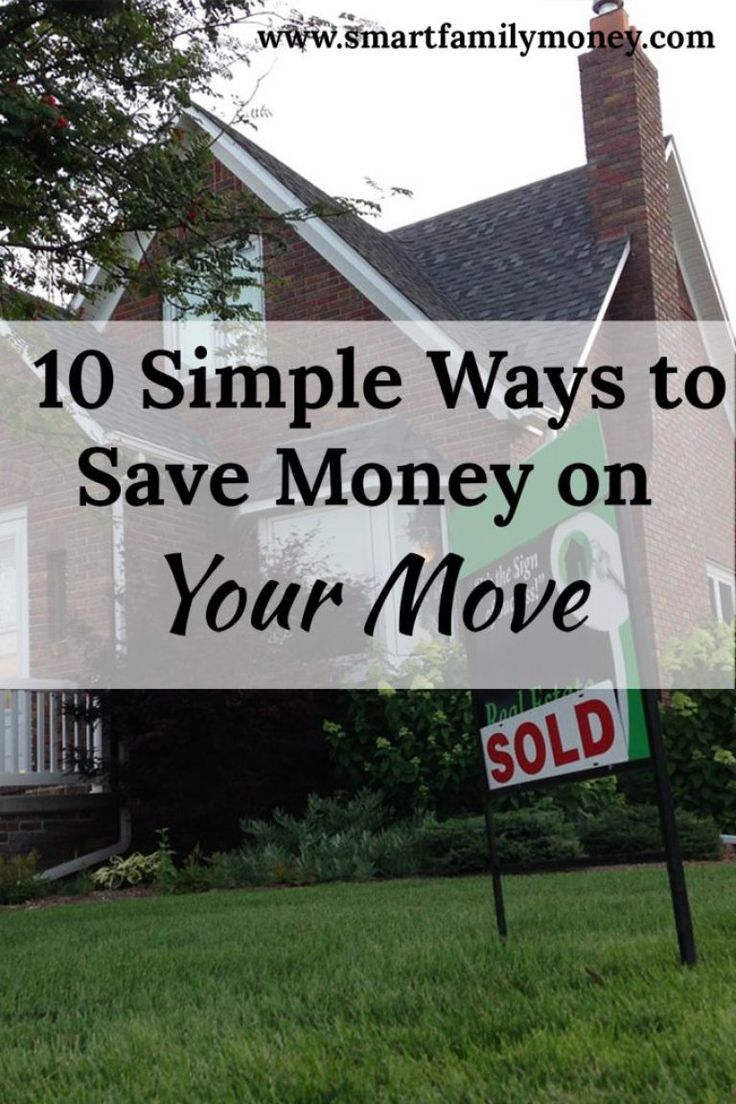 I loved this post for helping me save money when I move!