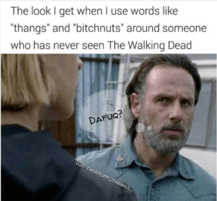 The Walking Dead #thangs #lol #twd