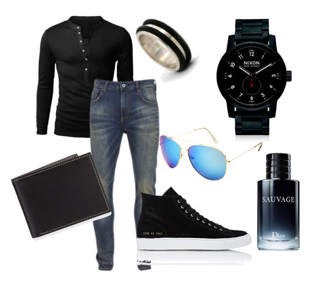 """""""Ahmed ajam it's for you #muscle's men <3"""" by yangui-sarra on Polyvore featuring Scotch & Soda, Common Projects, Nixon, NOVICA, Neiman Marcus, Christian Dior, men's fashion et menswear"""