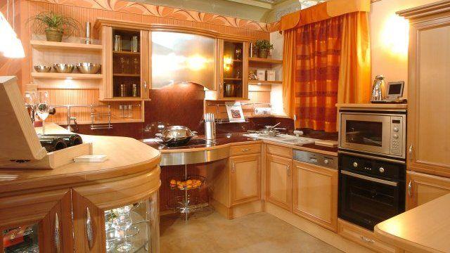 Klasszikus konyha bükkfából - Beach wood kitchen