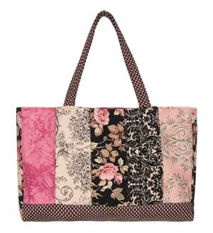 San Clemente Tote Bag Pattern With These Fabrics 6 Fat