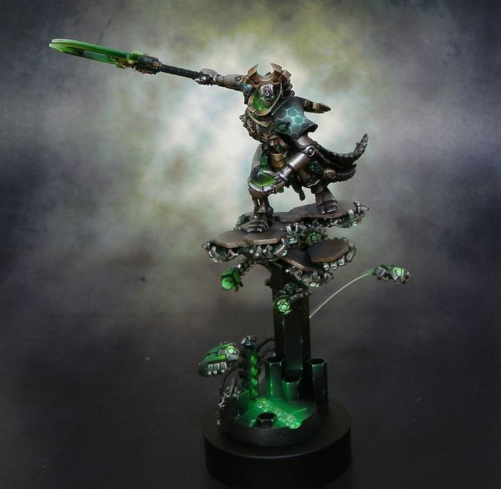 Ghost Walking Softly - Necron Army of One - Spikey Bits