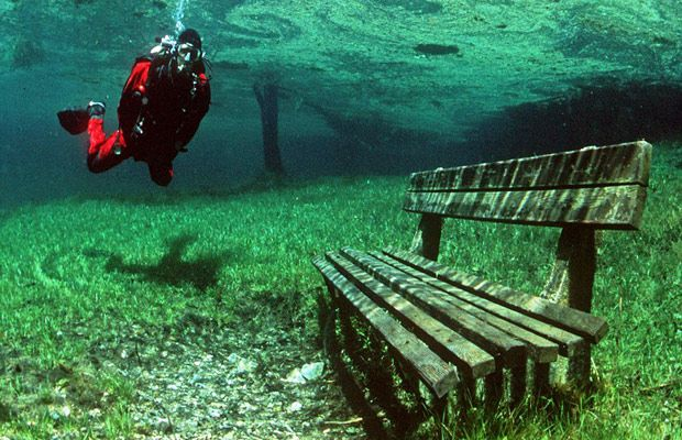 Inspired Travel: Green Lake, Austria #travel #inspiration #austria