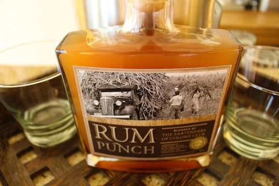 Nothing beats a robust Barbados rum punch.. made from local dark rum, sugar, lime juice and bitters.