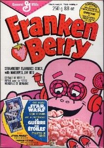 Ahhhh... my favorite cereal when I was a kid... Frankenberry