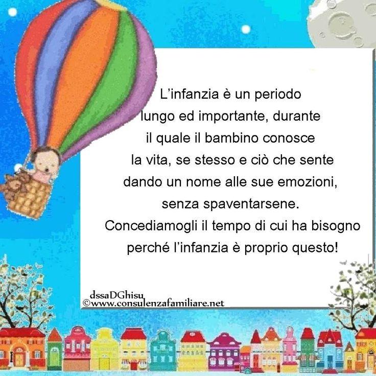 Lasciamo vivere l' #infanzia al #bambino. #educazione #figlio #crescita #parents #puerperio #genitore #psicologiadellinfanzia #mamma #bambini #famiglie #papà #consulenzagenitoriale #psicopedagogia #dssaDGhisu