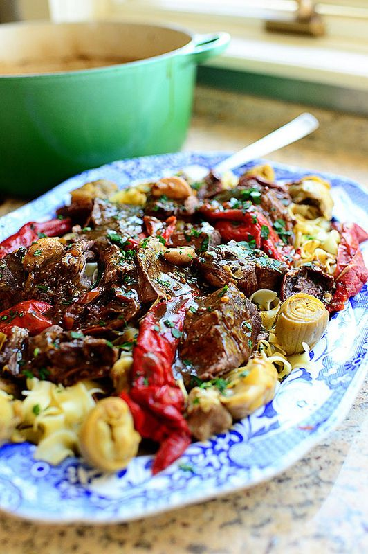 Italian Pot Roast: really like the Italian twist!