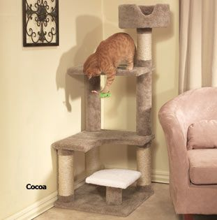 How to Build Your Own Cat Tree #TreeCheap - Stylendesigns.com
