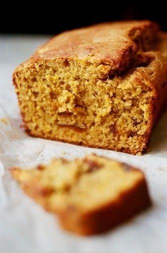 Cake au potimarron, aux épices et à l'orange