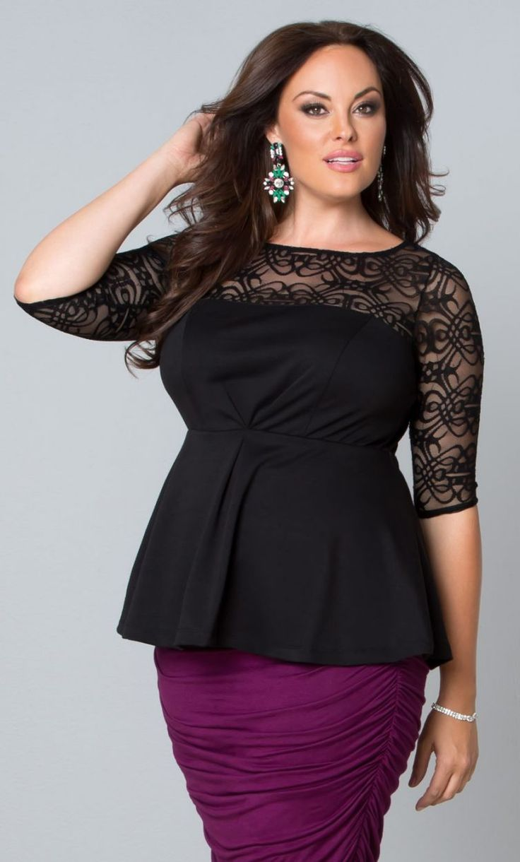Plus Size Career Blouses