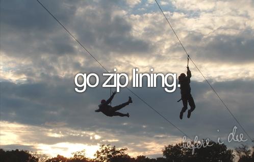 Go Ziplining - Before I Die #189 #bucketlist