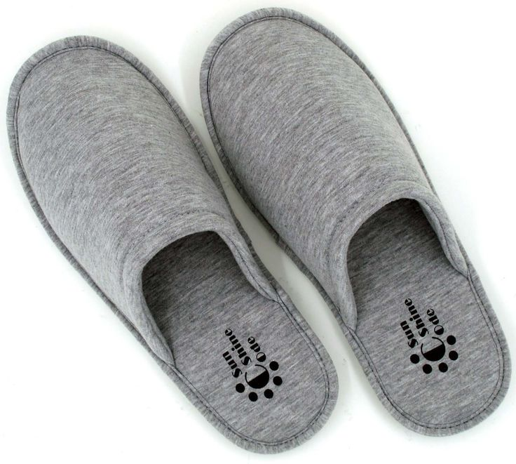 Men's Cotton Indoor Slippers Spa House Slippers, $17