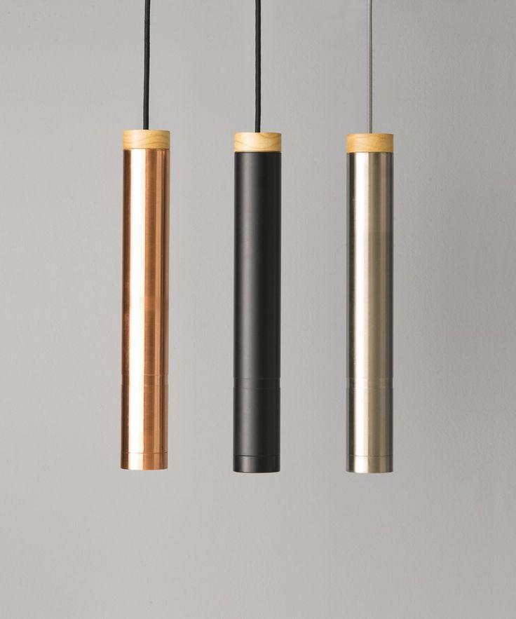 LEDlux Piper Large Dimmable Pendant in Brushed Chrome/Ash | Modern Pendants | Pendant Lights | Lighting