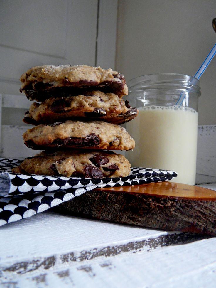 Vegan Chocolate Chip Sourdough Cookies