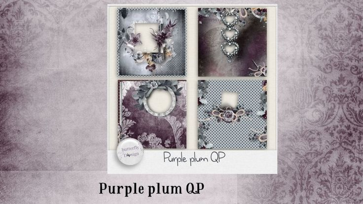 Purple Plum [Quickpages] by butterflyDsign