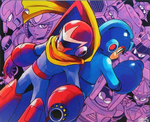 Mega Man 9 Fan Art