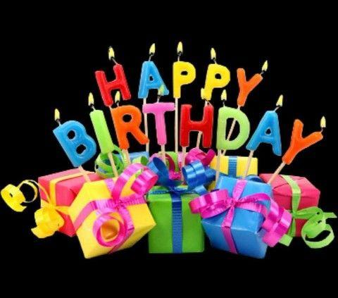 Happy Birthday Cake With Bonnie Blue Flag