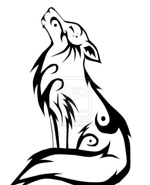 8 Tribal Wolf Tattoos | Best Tattoo Ideas