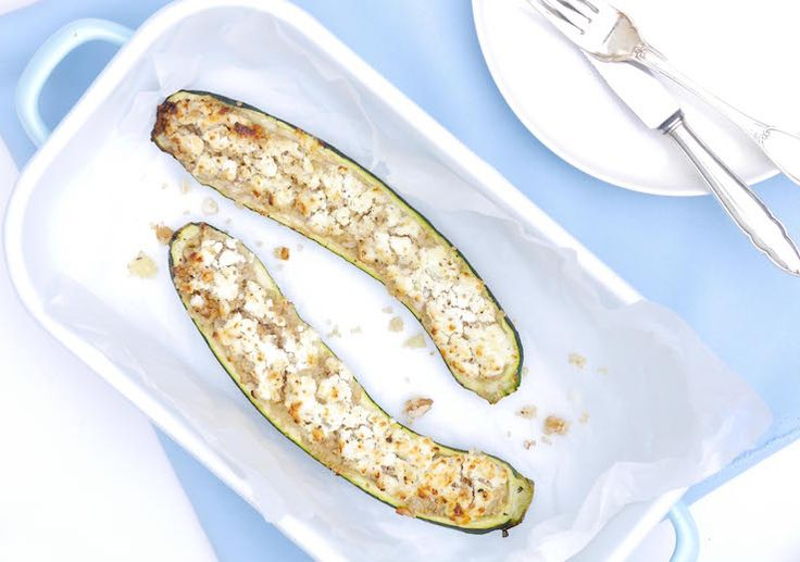 Gevulde courgettes – SKINNY SIX