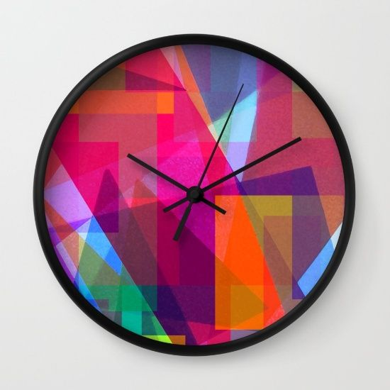 Paint by Light Wall Clock