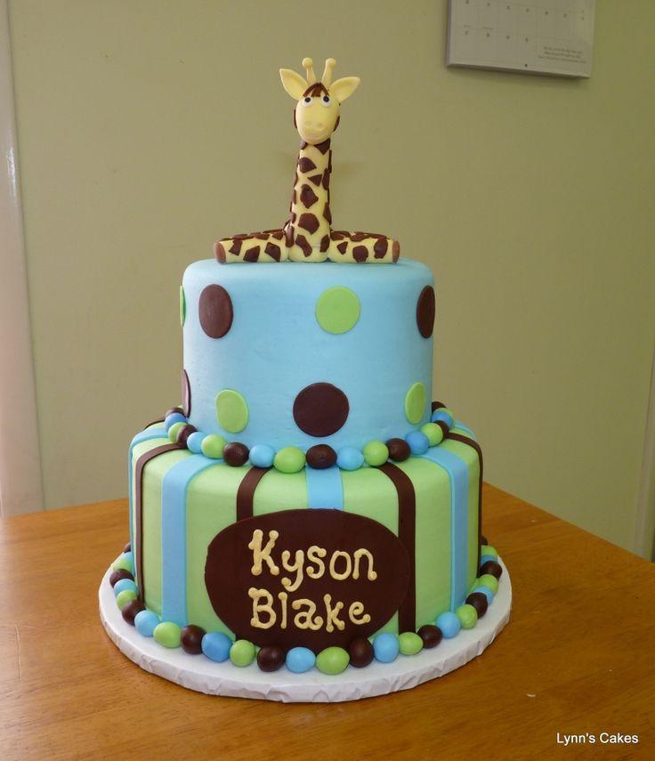 giraffe baby shower cake lauren 39 s baby shower pinterest