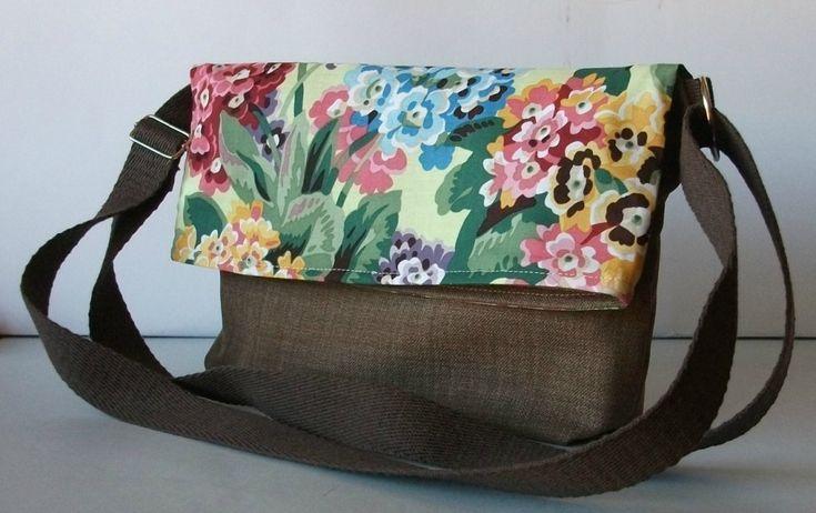78 mejores ideas sobre bolsos hechos a mano en pinterest bolsos hechos a mano bolsos hechos - Bolsos de tela hechos en casa ...