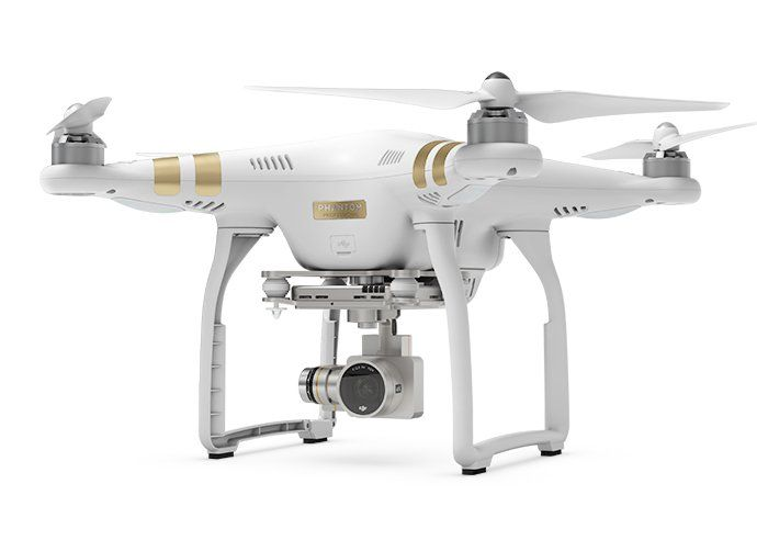 DJI Phantom 3 Professional Quadcopter Drone with FPV 4K FULL HD Action Video Camera in white and gold plus free Sony power bank. Using Camera Action to fly the Phantom, you can record or take photos at altitude or certain places that unattainable by Human Phantom 3 fly with a very stable, very easy to control. http://www.zocko.com/z/JKCtX
