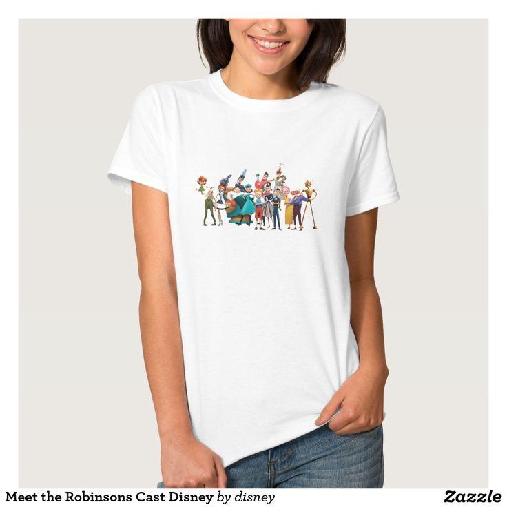 Meet the Robinsons Cast Disney Tee Shirt