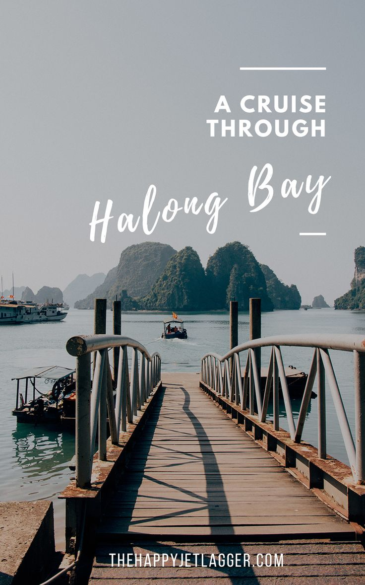 A romantic boat cruise through Halong Bay, Vietnam » The Happy Jetlagger #halongbay #cruise #vietnam