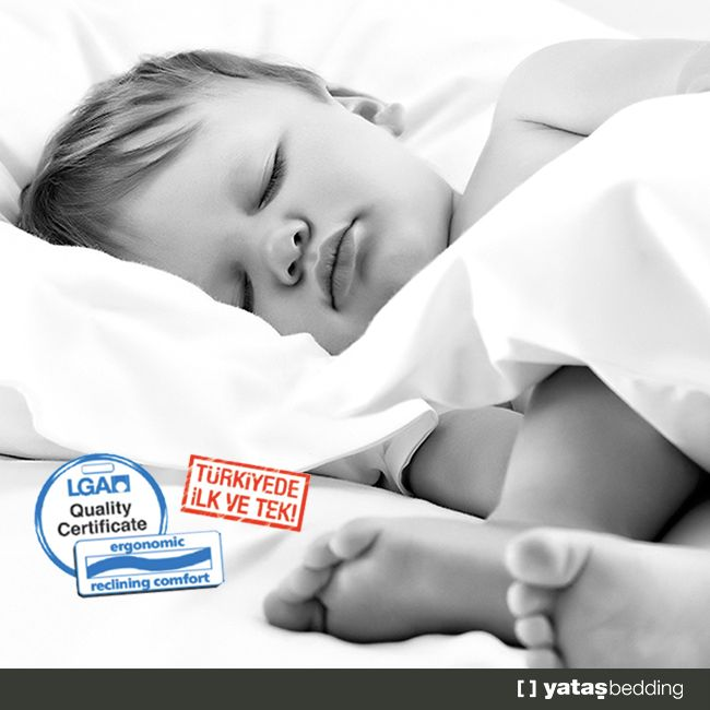 Türkiye'de ilk ve tek… Yataş Bebek Yatakları koleksiyonundaki ürünler, bebek vücut ergonomisine uygunluk konusunda Almanya'da sadece yüksek güvenlik ve kalite standartlarına sahip ürünlere verilen LGA sertifikasını almaya hak kazanmıştır.