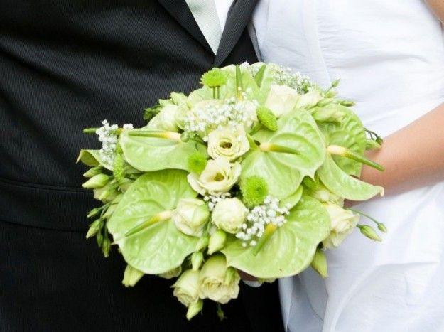 Bouquet da sposa con Anthurium