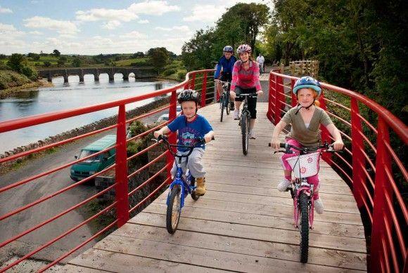 Great Western Greenway à vélo, Westport